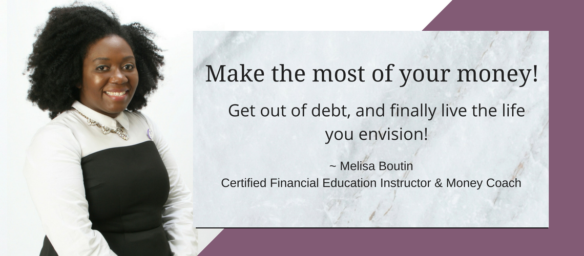 Melisa Boutin Certified Financial Education Instructor and Money Coach