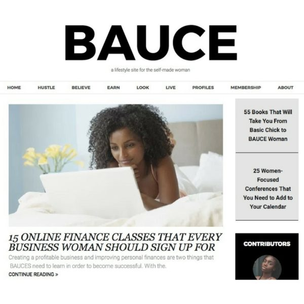 BAUCE Magazine Your Monry Worth Student Loan Webinar Feature