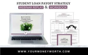 Student Loan Payoff Strategy Bundle