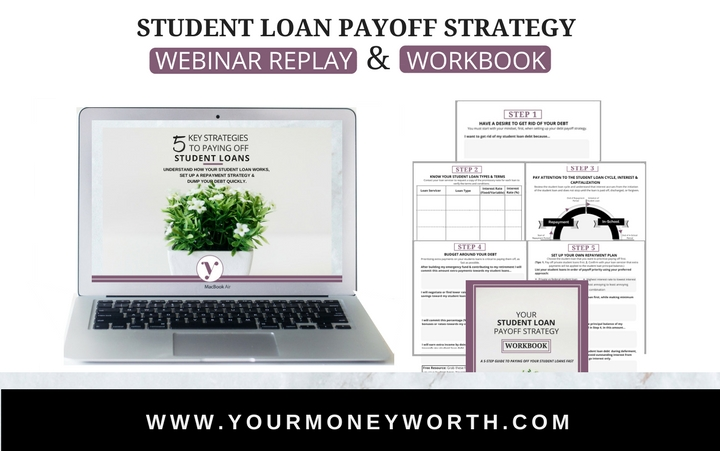 Student Loan Payoff Strategy Bundle
