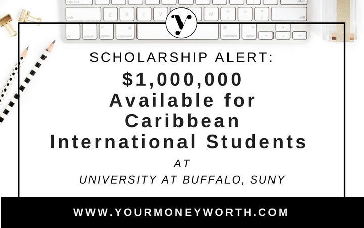 1 Million in Scholarships For Caribbean International Student at University At Buffalo SUNY