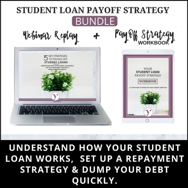 Student Loan Payoff Strategy Bundle Product