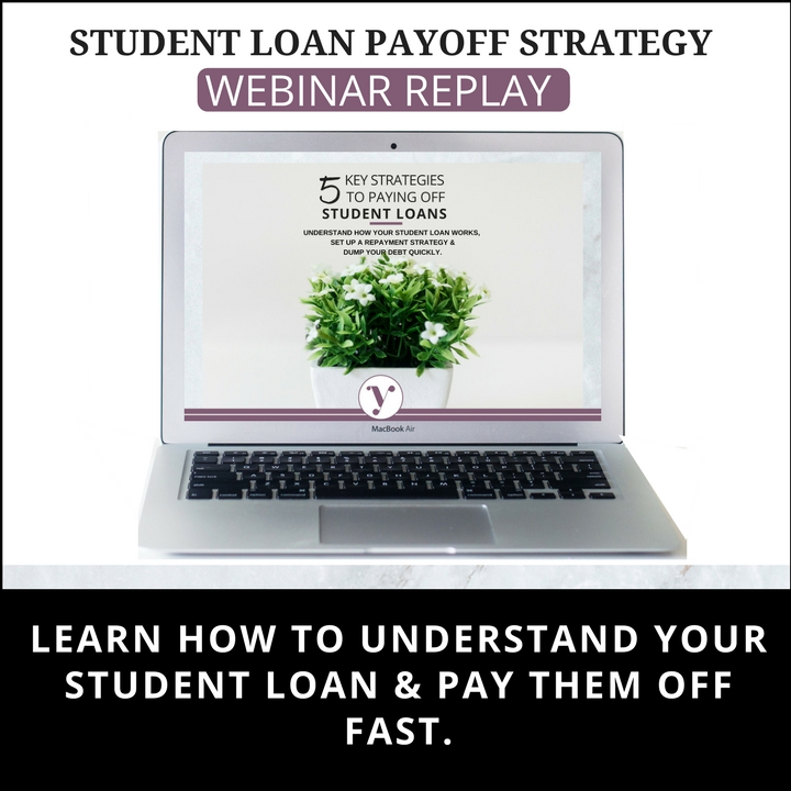 Student Loan PayOff Strategy Webinar Reply