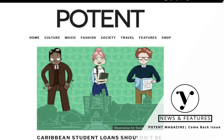Potent Magazine Article on Caribbean Student Loans by Melisa Boutin
