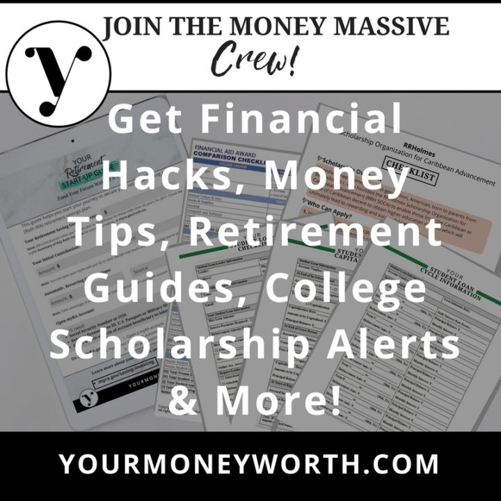 Join Your Money Worth Newsletter