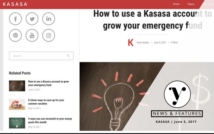 Grow Emergency Fund with Kasasa Melisa Boutin Feature