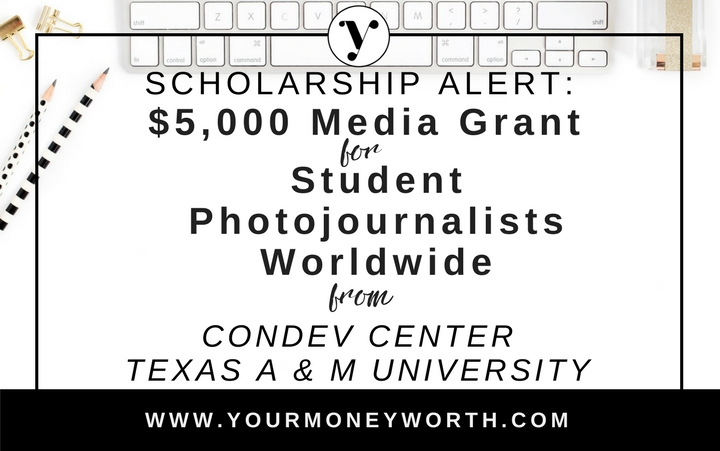 $5,000 Media Grant for Student Photojournalists Worldwide