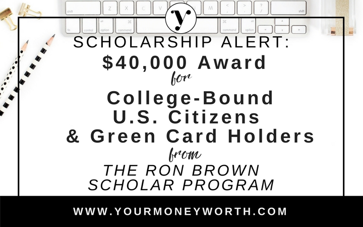 $40,000 Scholarship for College Bound High School Seniors in United States