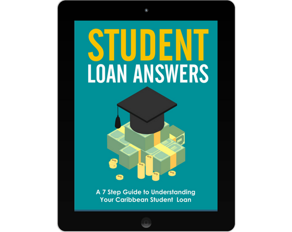 Student Loan Answers ebook on tablet device