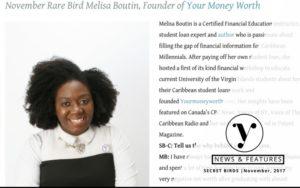 Secret Birds Caribbean - November Rare Bird