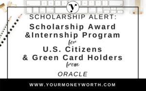 Scholarship and Internship Program for U.S. Citizens and Green Card Holders